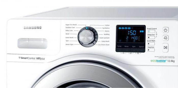 Samsung instructions washing machine
