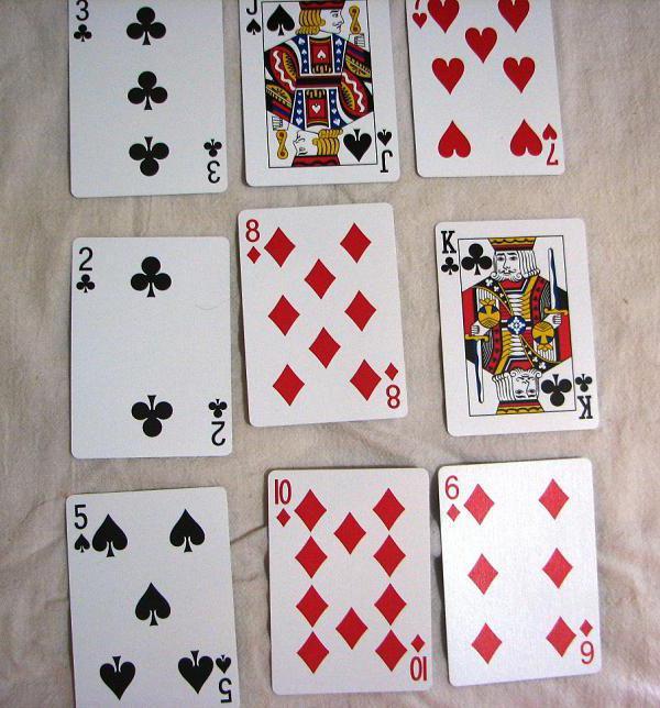Гадания на игральных картах расклады таро