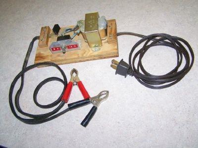 Как сделать зарядное устройство для аккумулятора из чего