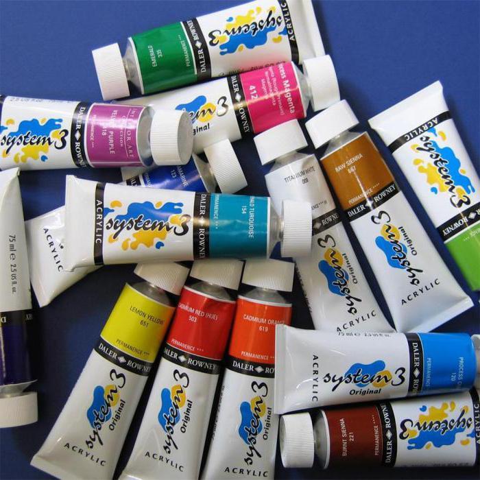 Акрилова фарба художня  характеристика та особливості e1d91034ba669