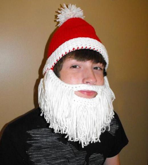 Как сделать бороду для старика своими руками 142