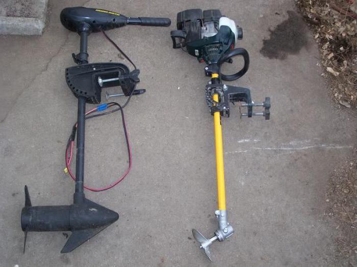 Лодочный мотор от скутера своими руками 15