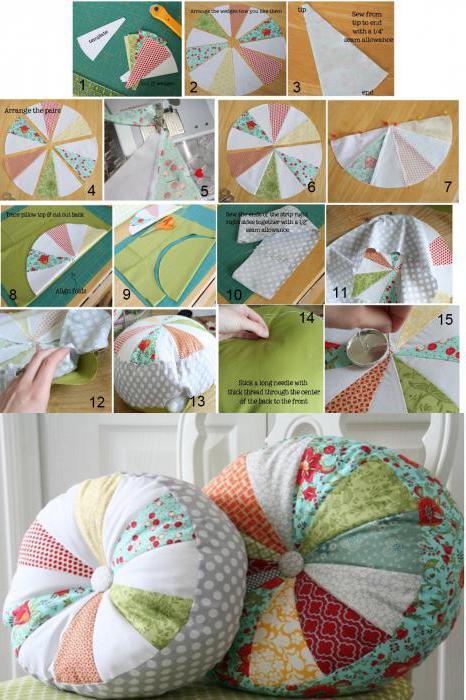 Как сшить подушки своими руками выкройки фото 8