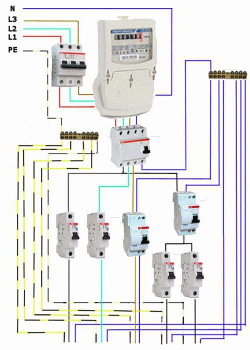 Установка трехфазного счетчика электроэнергии своими руками 37