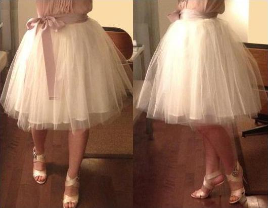Как сшить платье из фатина пышное для девушки 39