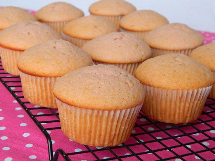 Как сделать кексы рецепты с фото