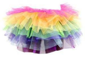 Как сшить юбку из органзы для девочки 756
