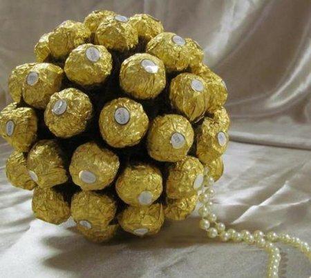 Шары из конфет