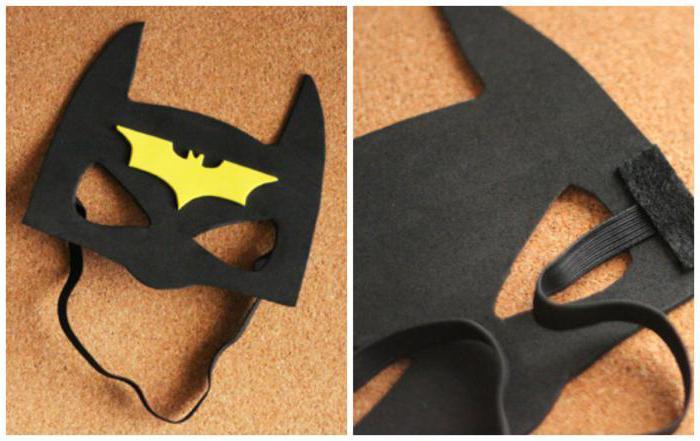 Как сделать маску бэтмена своими руками из бумаги