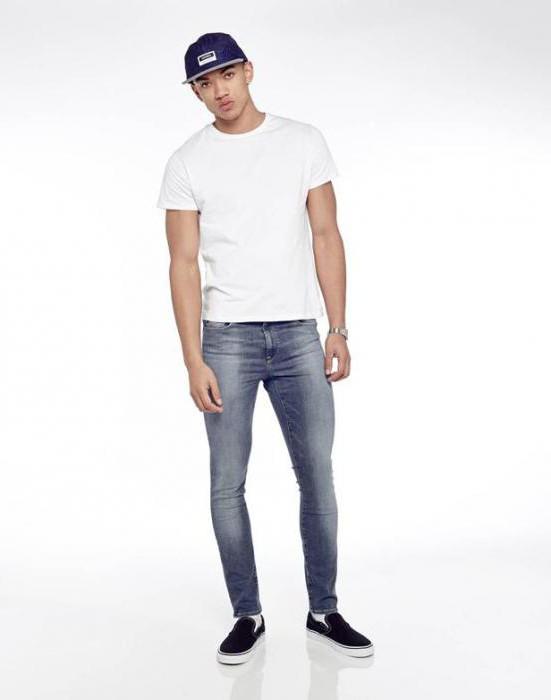 З чим носити вузькі джинси чоловічі  Дуже вузькі джинси чоловічі чорного  кольору (фото) a76f5985d4652