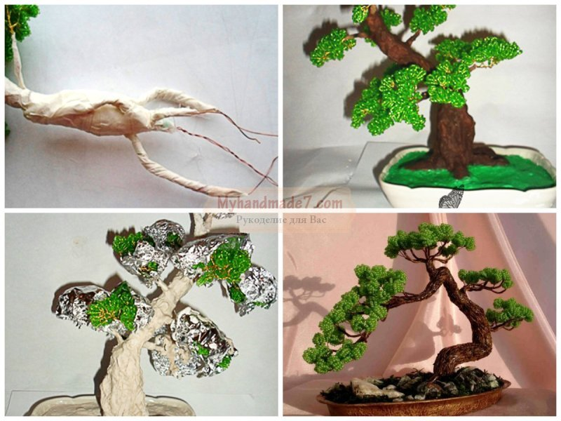 Как сделать дерево бонсай своими руками 57