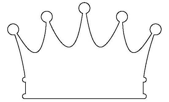 Сделать корону своими руками шаблоны 11