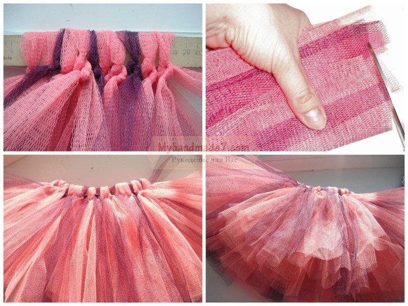 Как сшить юбку из фатина мастер класс 89