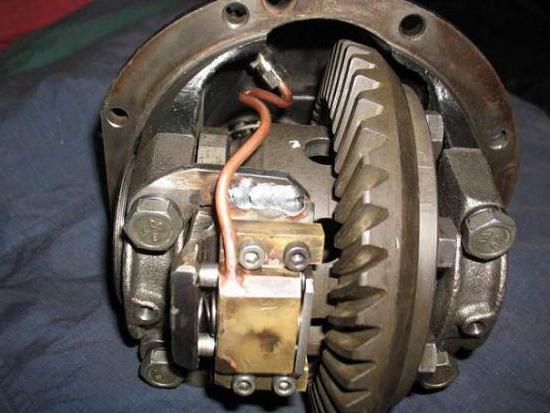 Как сделать блокировку колес 226