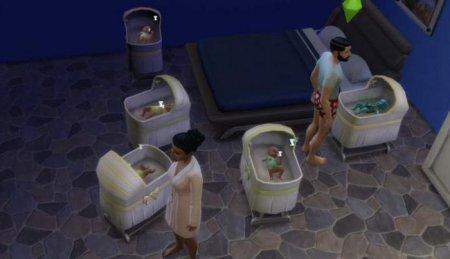 Как сделать в симс 3 чтобы родилась двойня девочка и мальчик