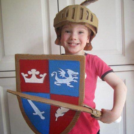 Костюм рыцаря для мальчика своими руками фото 46
