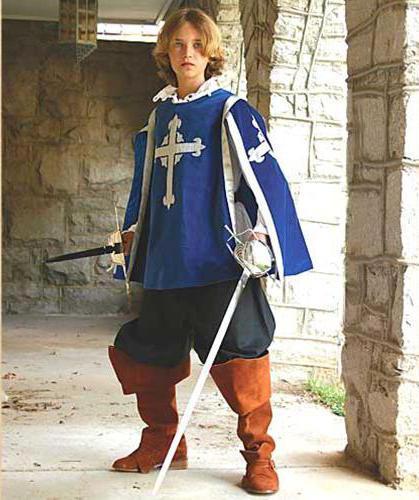 Як зробити карнавальний костюм мушкетера для хлопчика своїми руками  2281ee653d87b
